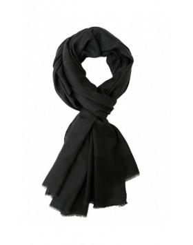 Black Ebony Cashmere Scarve