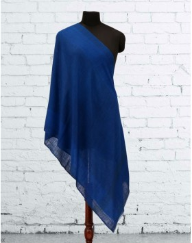 Royal Blue Cashmere Scarve