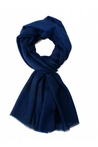 Royal Blue Cashmere Scarve