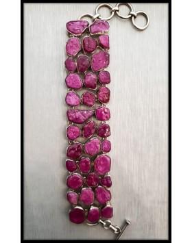 Silver Bracelet Tourmaline