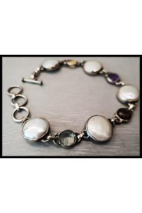 Silver Bracelet Perla