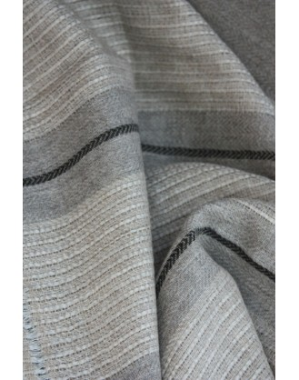 Grey Fusion Natural Cashmere Stole