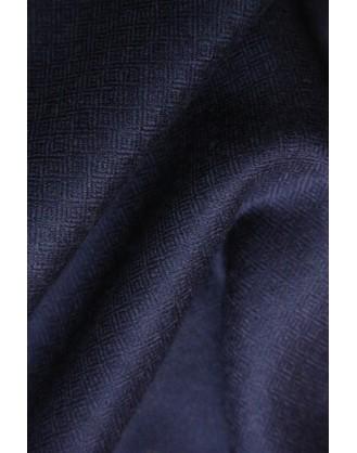 Blue spiral Eye Cashmere Esarfe
