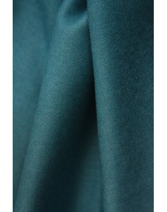 Blue turquoise spiral eye Cashmere Scarf