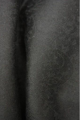 Ebony Jacquard Cashmere scarf