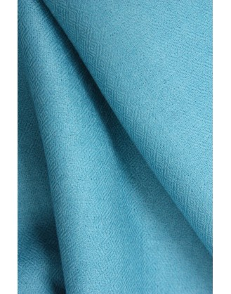 Turquoise Spiral eye cashmere scarf