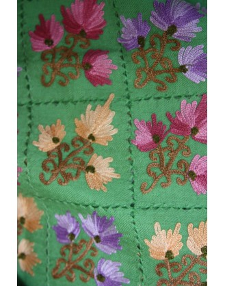Ocean bloom Macrame shawl