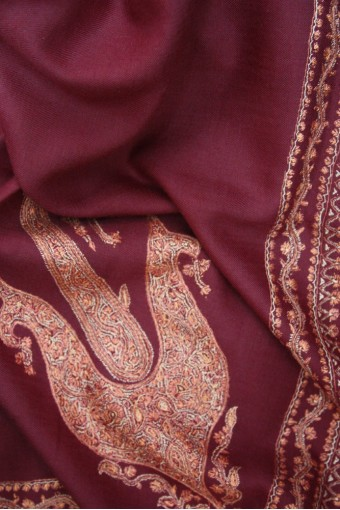 Royal Paisley Kashmir Shawl