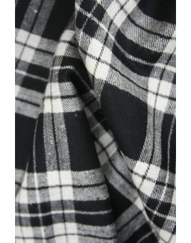 Sunset Check Cashmere (Pashmina) shawl