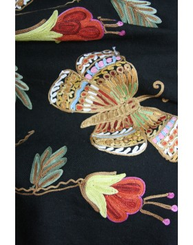 Butterfly Kisses Ebony Shawl