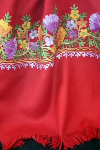 Blossom Tulip Rosu Shawl