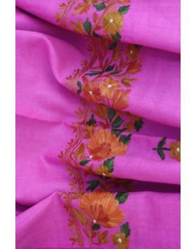 Golden Flower Roz Shawl
