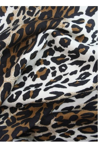 Animal Print Afro Safari Scarve